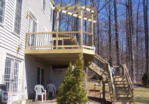 Upper Deck with Trellis