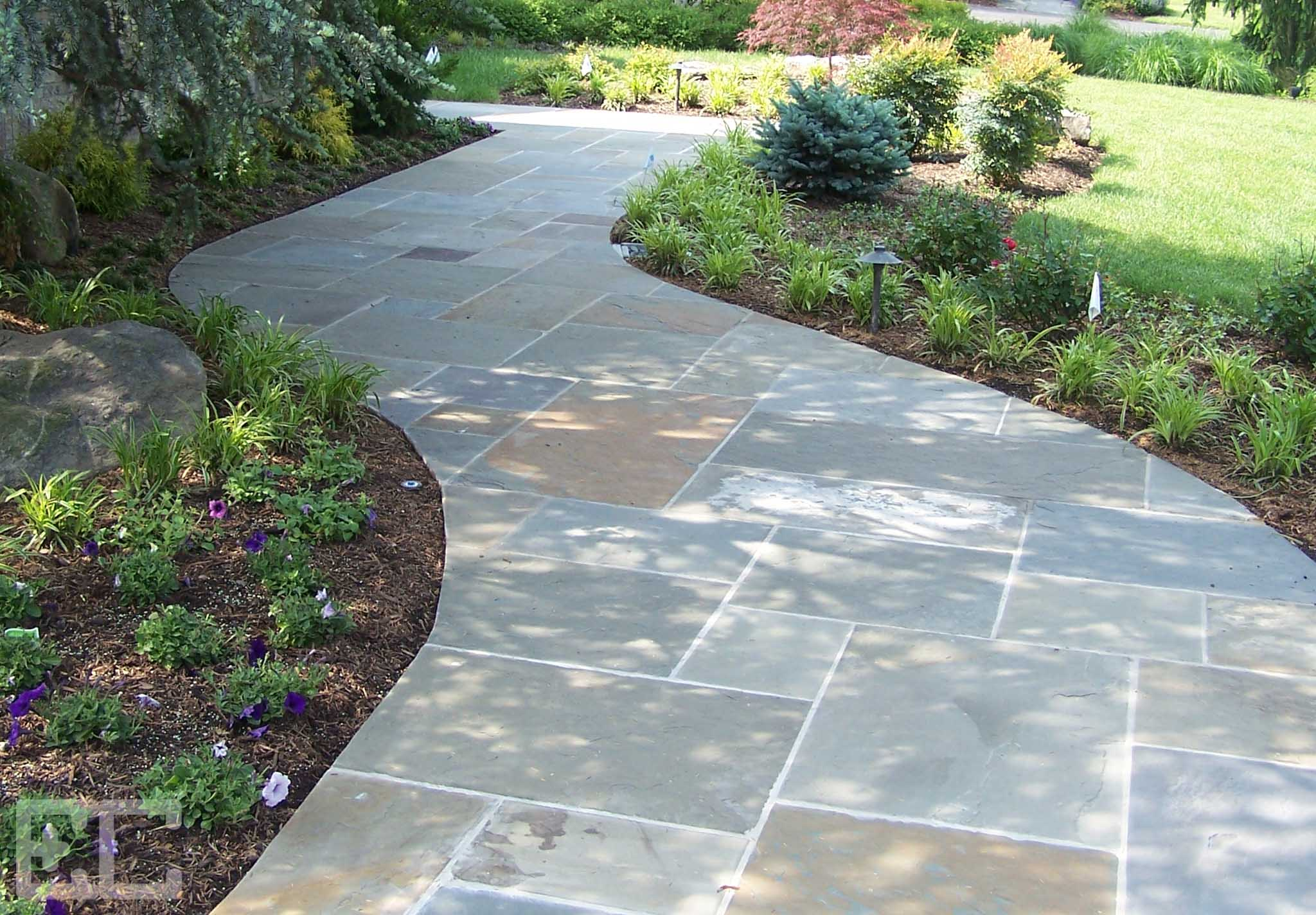 Stone Walkway Economy Craftsmen Services