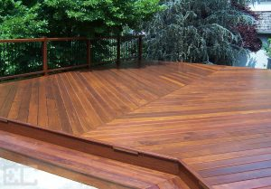 Hardwood Low Deck