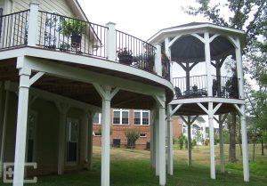 Upper Deck with Gazebo